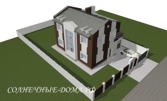 Проект солнечного энергоэффективного дома