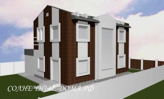 Типовой проект солнечного энергоэффективного дома
