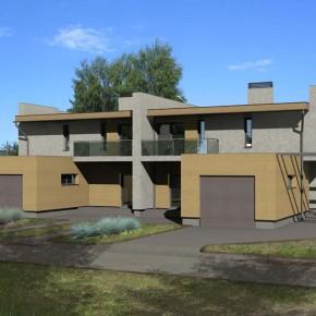 Двухквартирный жилой дом «2х2»