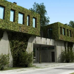 Блокированный жилой дом для персонала