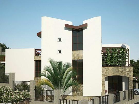 Проект дома на сложном рельефе с расчётной сейсмостойкостью 8 баллов