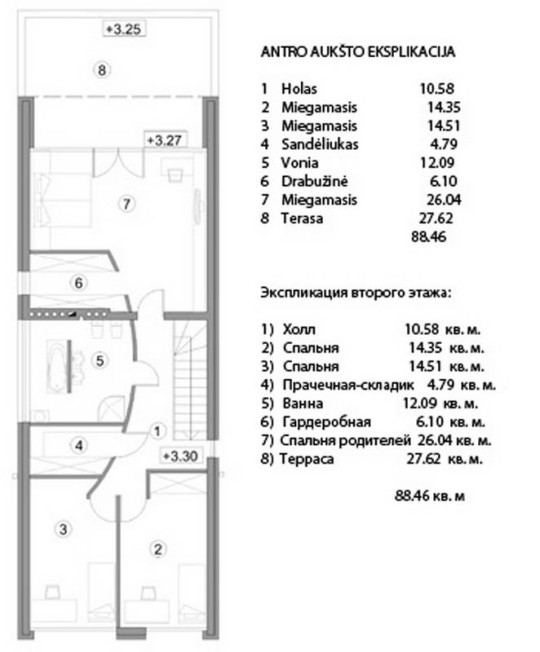 Dom Sovremennaja izba 5