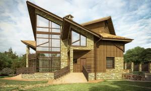 Проект современного жилого дома Perspective House