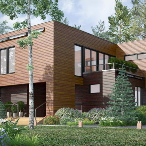 Проект дома на Николиной горе