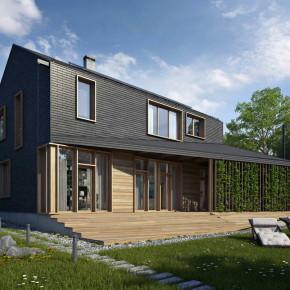 Проект современного жилого дома
