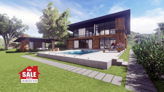 Проект современного частного дома для одной семьи