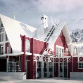 Жилой дом в Голицыно