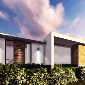 Проект одноэтажного частного дома для одной семьи