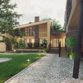 Проект современного жилого дома 2