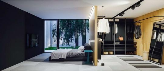 Одноэтажный дом для молодой семьи