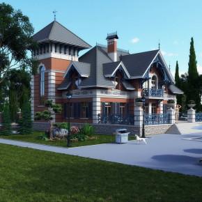 Проект дома-усадьбы