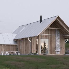 Проект модульного дома «Русский стиль»