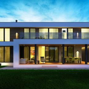 Проект современного загородного дома в Подмосковье