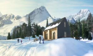 Проект модульного дома для двоих