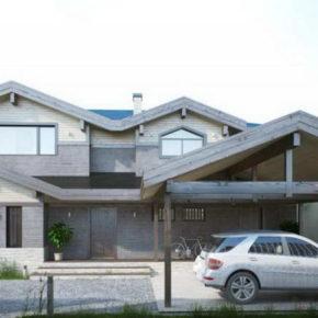 Проект жилого дома со СПА-зоной