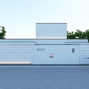 Проект городского дома с бассейном