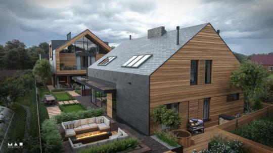 Проект загородной резиденции