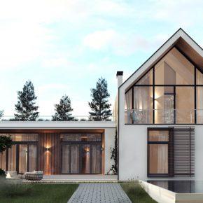 Проект частного дома площадью 150 м2